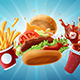 Fast Food Bundle - GraphicRiver Item for Sale