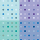 Dots vector patterns - GraphicRiver Item for Sale