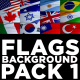Flag Backgrounds Pack 1 - VideoHive Item for Sale