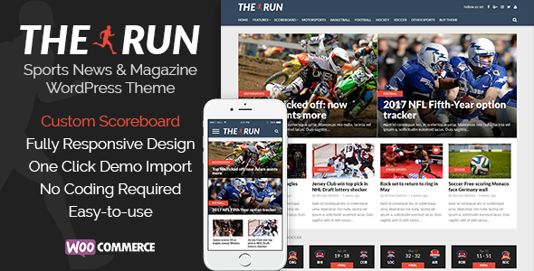The Run – Sports News and Magazine WordPress Theme