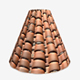 Messy Terracotta Roof Tiles Seamless 2