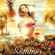 Tropical Summer Beach Party Flyer - GraphicRiver Item for Sale
