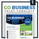 Go Business - Single Sided Flyer - GraphicRiver Item for Sale
