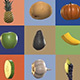 Fresh Pack, Fruits and Vegetables - VideoHive Item for Sale