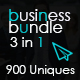 3 In 1 Business Bundle - GraphicRiver Item for Sale