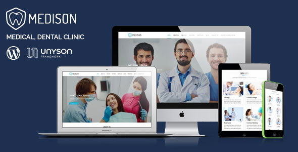 25+ Best Dental Care and Dentist WordPress Themes 2019 9