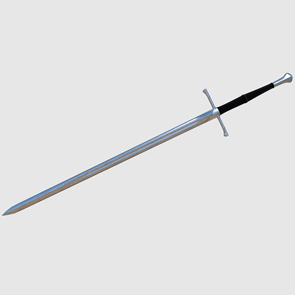 Long Sword - Game Ready - 3DOcean Item for Sale