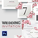 Creative Wedding - Floral Invitations - GraphicRiver Item for Sale