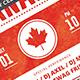 Canada Celebration Flyer - GraphicRiver Item for Sale