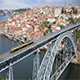 Dom Luis I Bridge in Porto, Portugal - VideoHive Item for Sale
