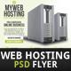 Web Hosting Flyer Template - GraphicRiver Item for Sale