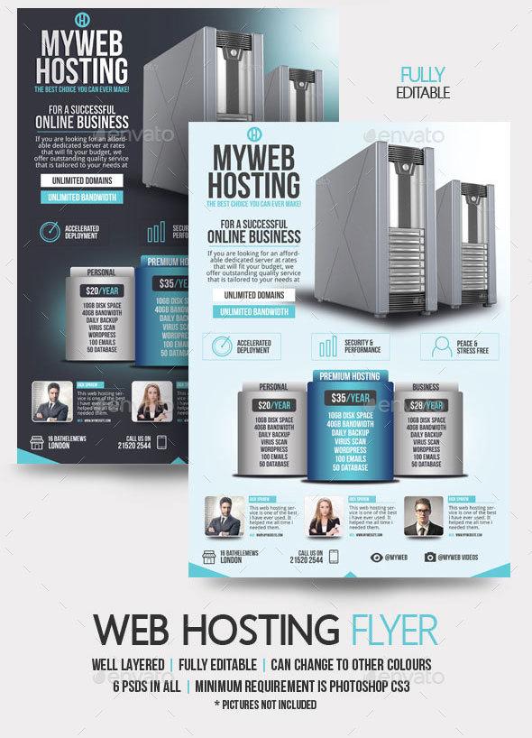 Preview_set/web Hosting Flyer_01 Preview_set/web Hosting Flyer_02  ...
