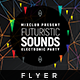 Futuristic Sound - Flyer Template - GraphicRiver Item for Sale