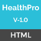 HealthPro - Medical and Health Responsive HTML5 Template - ThemeForest Item for Sale