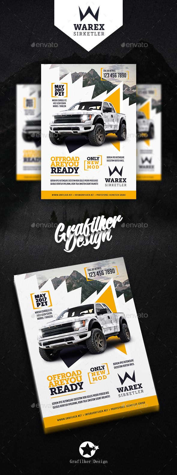 Car Sales Flyer Templates - Corporate Flyers