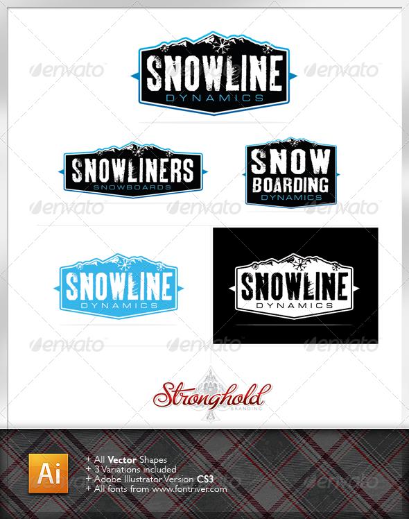 Snow Dynamics Logo Template - Nature Logo Templates