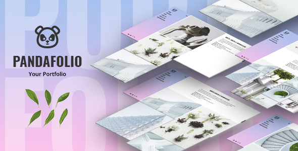 Pandafolio - Modern and Clean Portfolio WordPress Theme + RTL