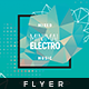 Minimal Electro - Flyer Template - GraphicRiver Item for Sale