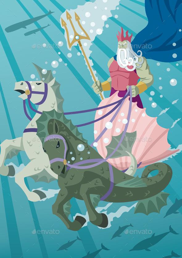 Poseidon - Miscellaneous Characters