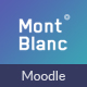 MontBlanc - Responsive Moodle Theme Nulled