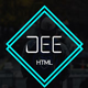 Dee-Personal One Page Template - ThemeForest Item for Sale
