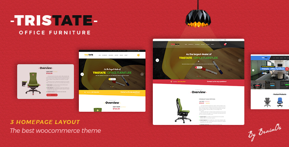 Tristate - Office Furniture WooCommerce WordPress Theme - WooCommerce eCommerce