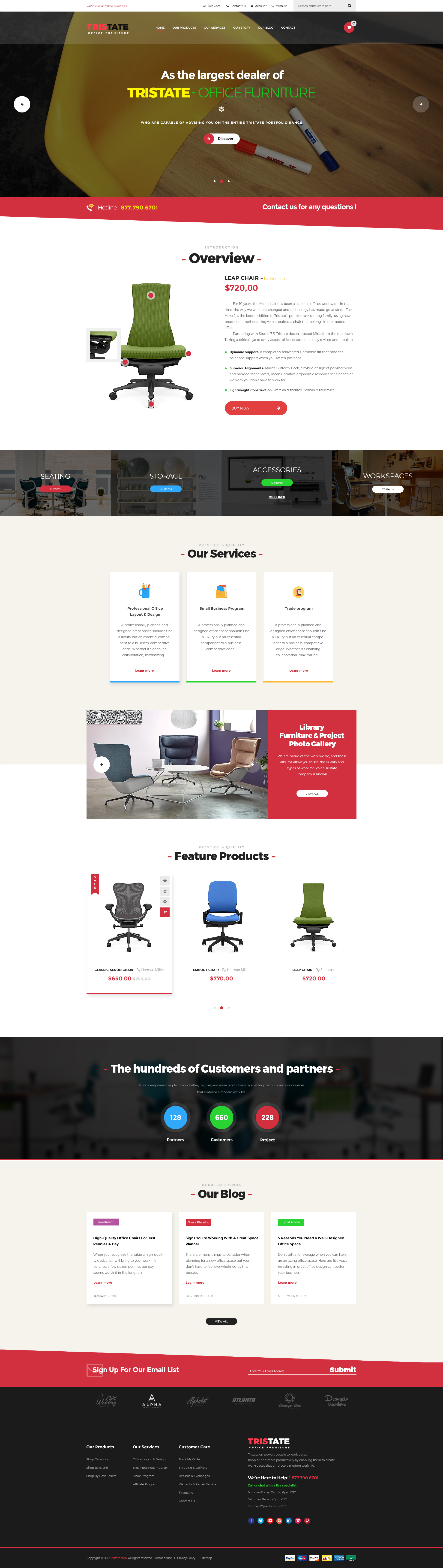 tristate - office furniture woocommerce wordpress themethemelexus