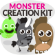 Simply Monster Creation Kit - GraphicRiver Item for Sale