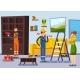 Home Renovation Workmen Flat Poster - GraphicRiver Item for Sale