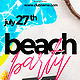 Summer Beach Flyer - GraphicRiver Item for Sale