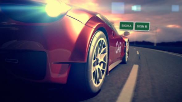 Videohive Car Racing Reveal 20157855
