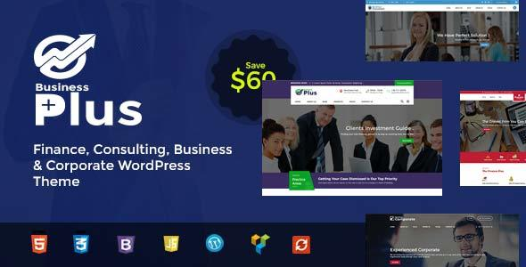 Business Plus - Finance Consultancy WordPress Theme