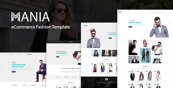 Image of Mania - eCommerce Fashion Template