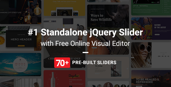Master Slider jQuery Slider Plugin with Visual Builder - CodeCanyon Item for Sale