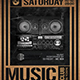 Music in the Box Flyer Template - GraphicRiver Item for Sale