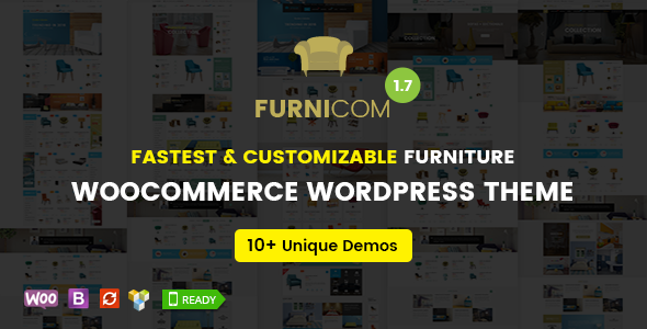 Furnicom - Fastest Furniture Store WooCommerce WordPress Theme - WooCommerce eCommerce