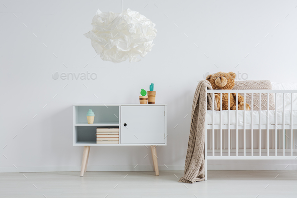 Bright and warm nursery - Stock Photo - Images