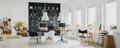 Modern office with blackboard - PhotoDune Item for Sale
