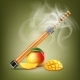 Electronic Hookah with Mango - GraphicRiver Item for Sale
