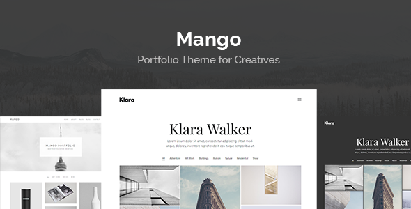 Mango - Portfolio for Creatives