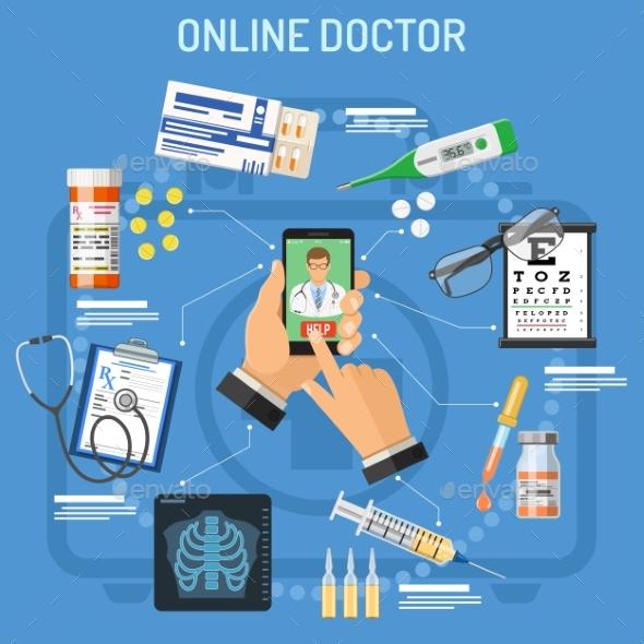 Online Doctor Concept - Health/Medicine Conceptual