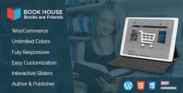 Book House WordPress - BookShop WP