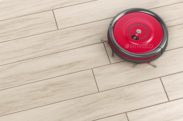 Robot vacuum - Stock Photo - Images