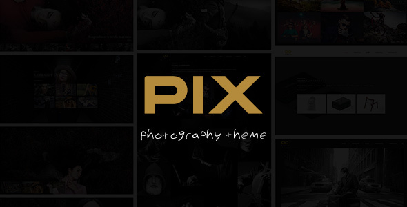 Pix – Photography Studio WordPress Theme