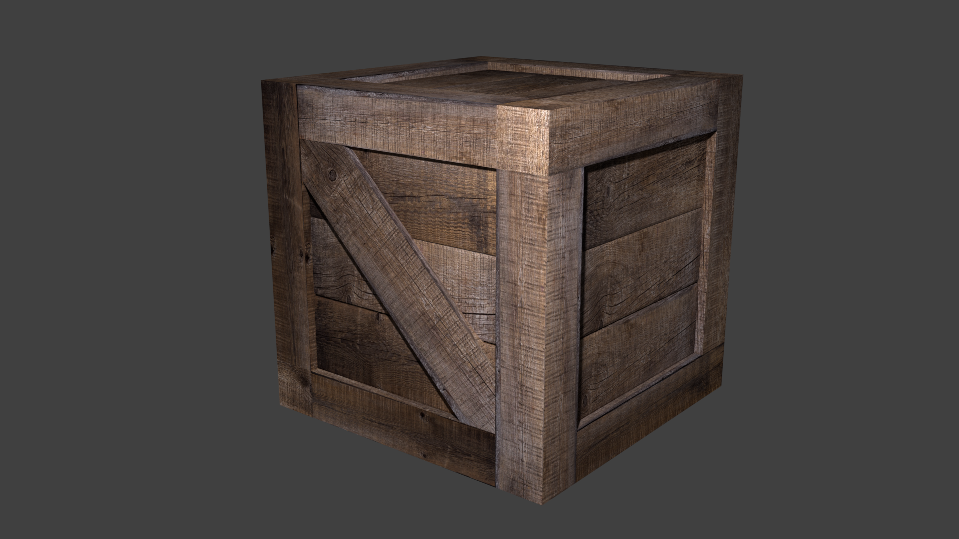 Wooden Crate By Josepharaoh99