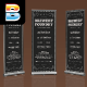Vape Event Roll Up Banner - GraphicRiver Item for Sale
