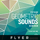 Geometric Sounds - Flyer Template