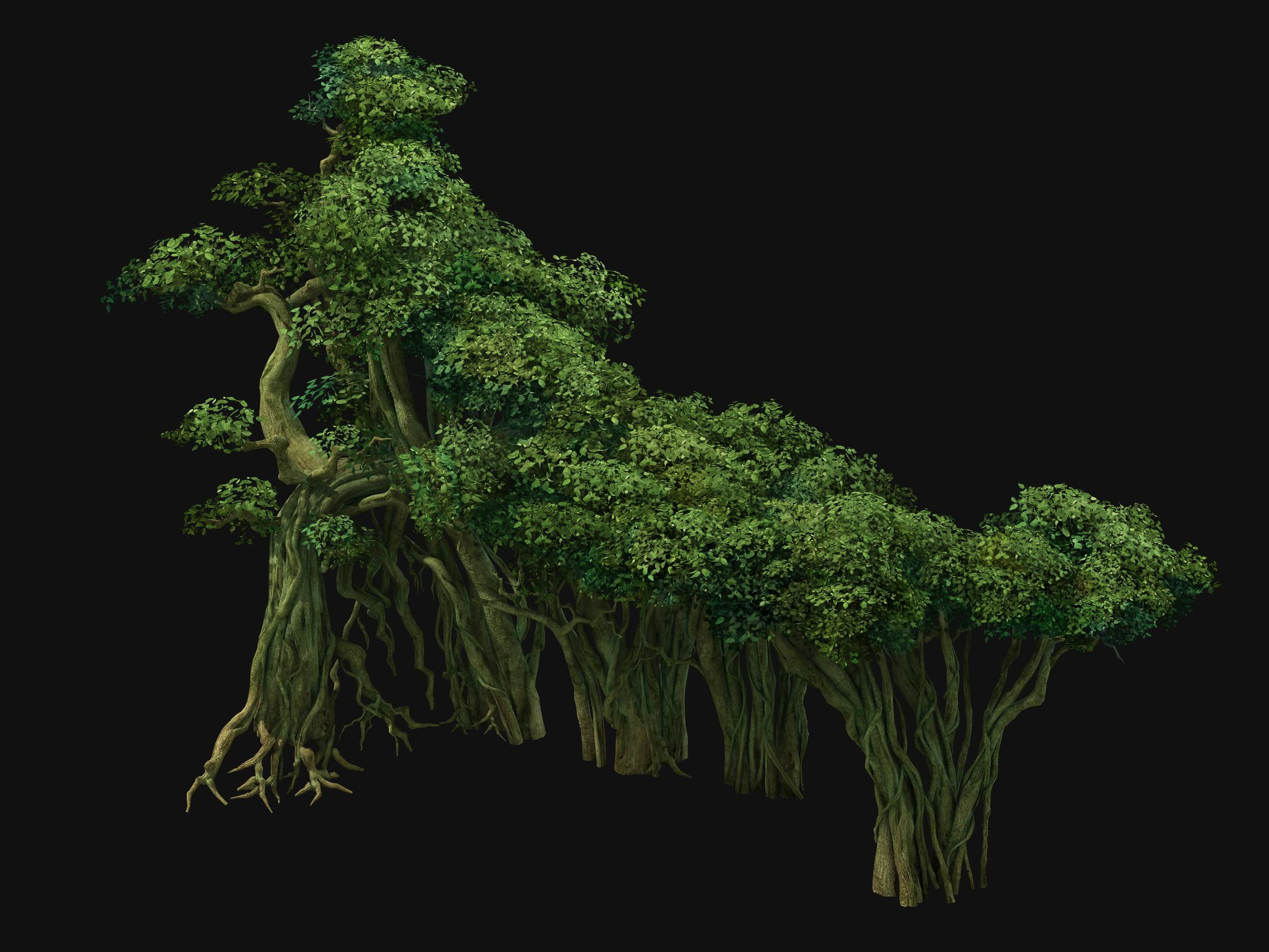 Game Model - Forest - Tree 10
