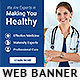 Healthcare PSD Banner Ad - GraphicRiver Item for Sale