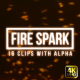 Sparking Fire - VideoHive Item for Sale